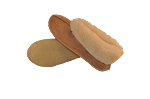 Colorado Moccasin Sheepskin Slippers with Traction Rubber Crepe Sole Made in the USA