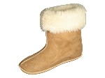 High Top Sheepskin Slippers Made in the USA