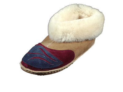 Deluxe Colorado Moccasin Sheepskin Slippers Made in the USA