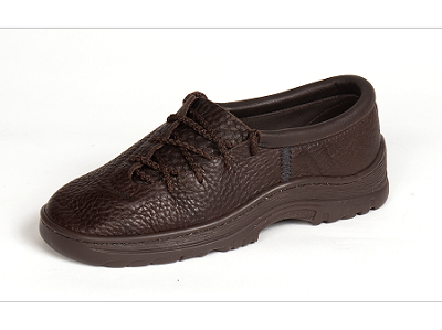 Side Lace Leather Shoes Made in the USA