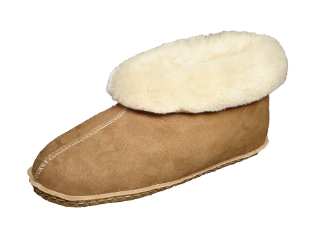 7b6f06b76d8 Colorado Moccasin Sheepskin Slippers with Leather Sole Made in the USA