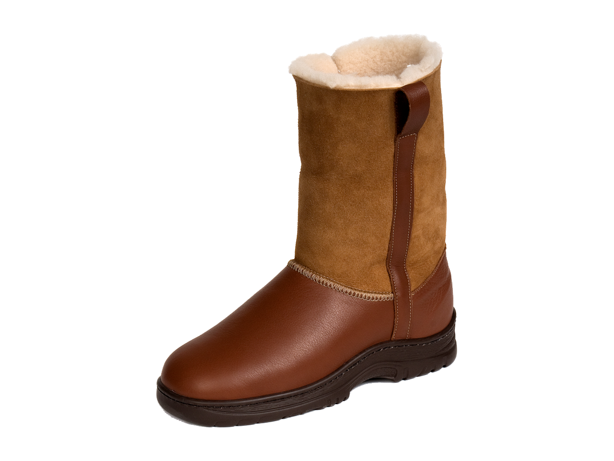 63c38ad3a1ea The Drift Sheepskin Boots Made in the USA