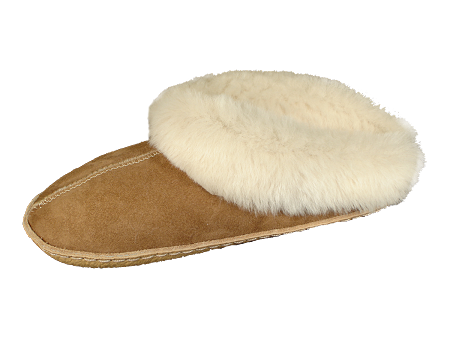 Slide Sheepskin Slippers Made In The Usa