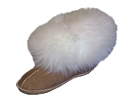 Shag Top Sheepskin Slippers       Made in the USA