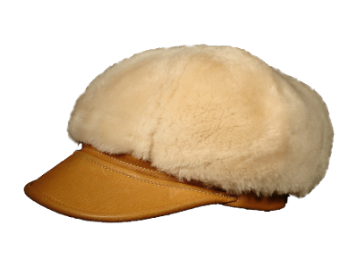 The Belmont Sheepskin Hats Made in the USA