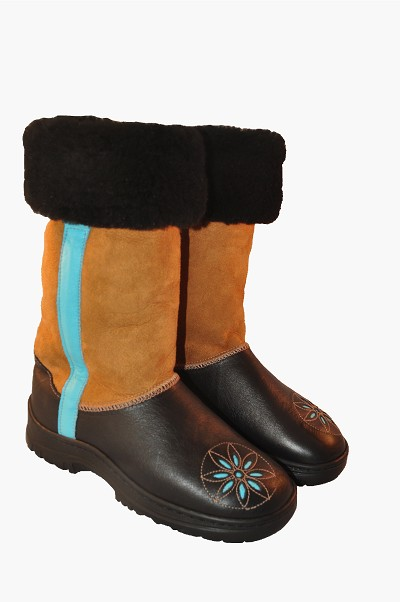 The Cornice Sheepskin Boots Made in the USA